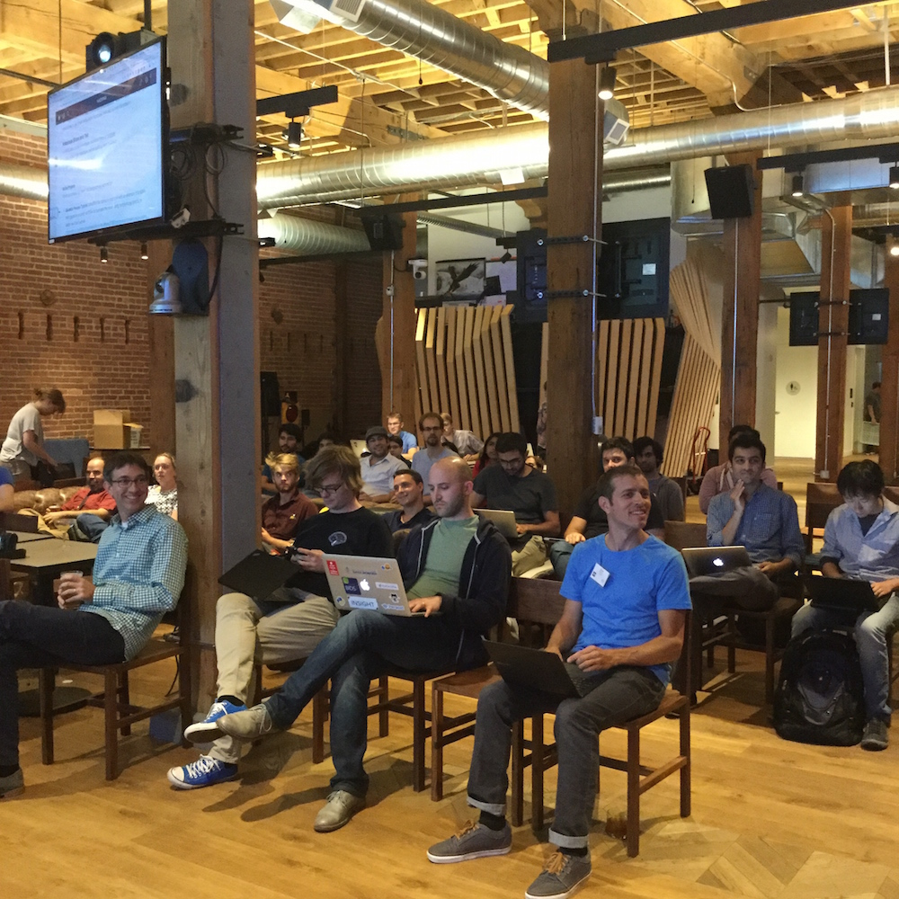 Discussion about reproducible code, science and the value of Jupyter Notebooks. GitHub HQ – San Francisco, August 2016.