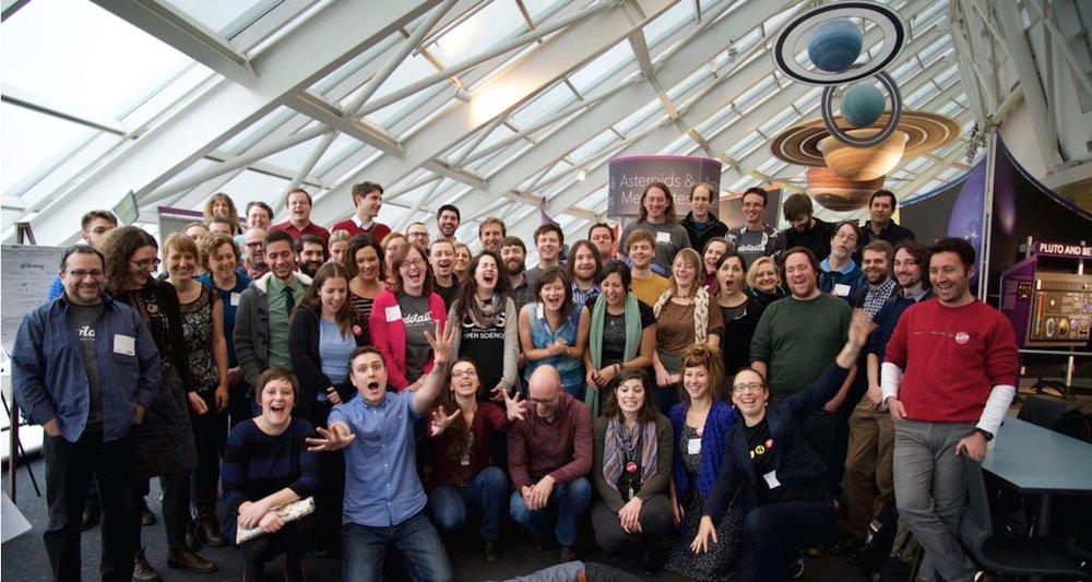 .Astronomy 6 Conference Photo, December 8-10th 2014,Adler Planetarium, Chicago USA [Image Credit: Dimitri Muna]