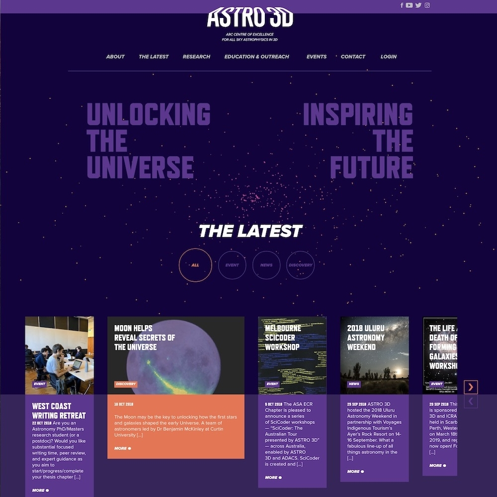 ARC Centre of Excellence for All-Sky Astrophysics in 3D