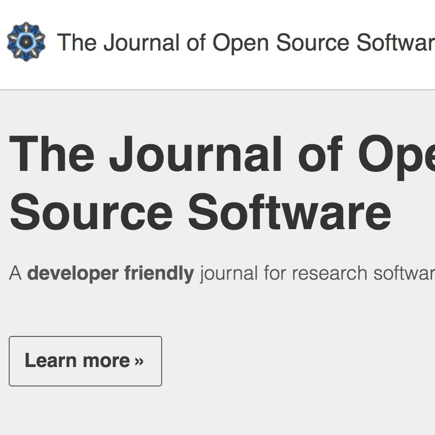 Journal Of Open Source Software Design And First Year Review Arna Karick Phd