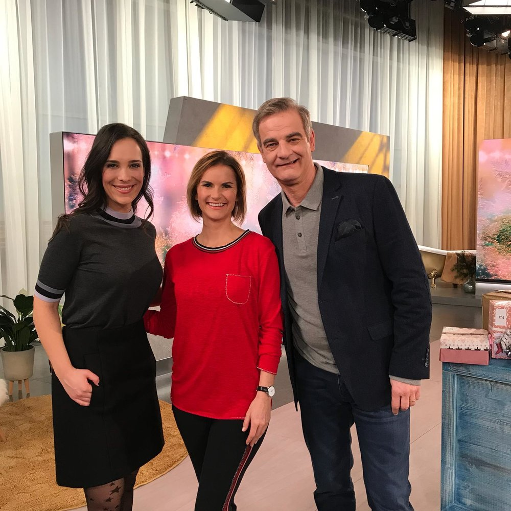 Alina Stiegler und Heinrich Schafmeister | Live nach Neun | Das Erste