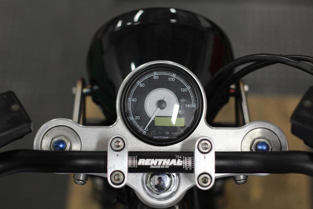 custom motorbike Yamaha