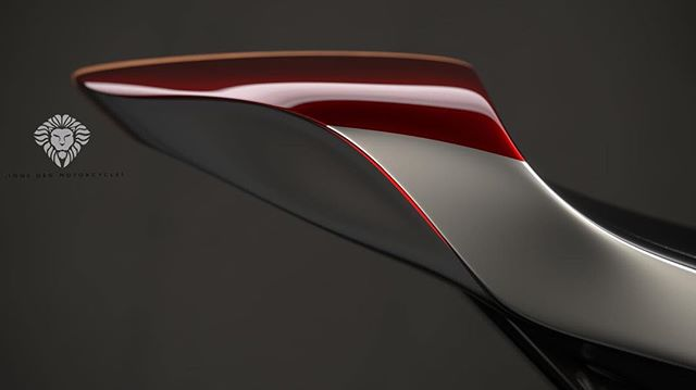 Lines, lines, lines. And you can just about make out the Bubinga solid wood strip that would run down the centre of the tail. Indicators and tail lights tucked into the bodywork.  My design realised through digital beauty, created by @ziggymoto. . . . . #ducati #ducatimonster #ducatista #design #digital #render #motorbike #caferacer #unique #bespoke #handmade #caferacersofinstagram #croig