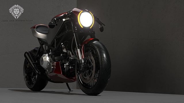 This design is now available for commission. I may not be building it as part of the Harrison award but I don't want to see it get stuck in virtual reality!  Get in touch if this is something you can see yourself riding on next year.  Incredible render by the awesome and nicest guy I've met in some time @ziggymoto. . . . . #ducatista #ducati #monster #caferacer #custom #design #render #ideas #creativity #motorcycle #caferacersofinstagram #bespoke