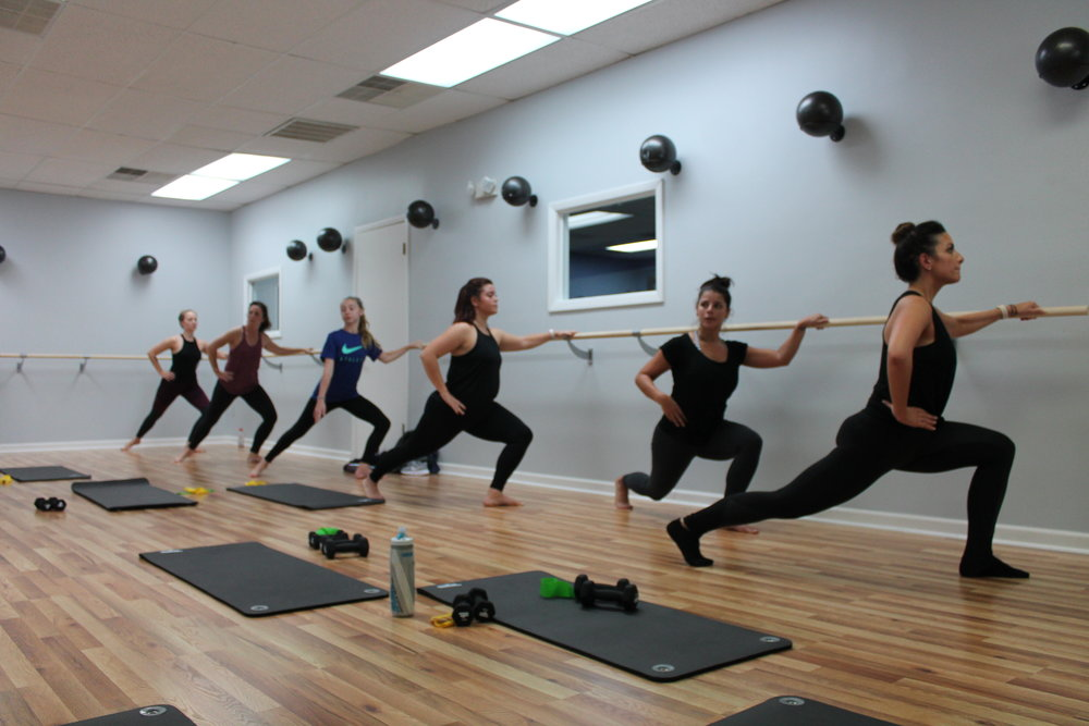 Bad Ass Barre  - Monday, Wednesday and Friday at 4:30 PM and 5:30 PM.