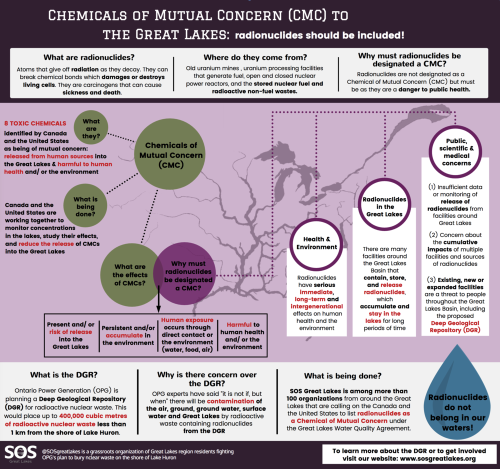 Chemicals of Mutual Concern(CMC): Radionuclides should be included!