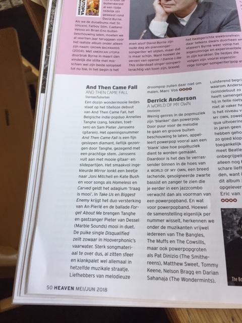 Heaven Magazine • 4* review