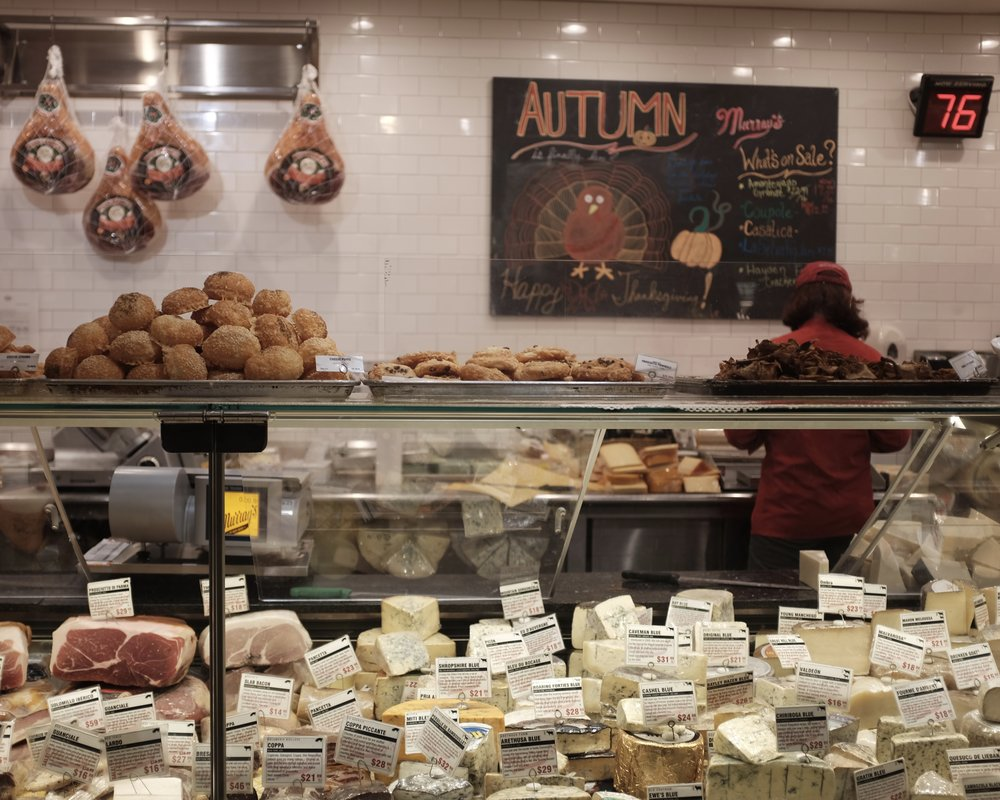 One of my favorite neighborhoods to visit is Greenwich Village, the college town home to NYU. Murray's Cheese is at the heart of the district; its owners have been selling cheese in the New York since 1940!