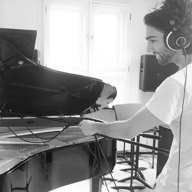 Studio Recording  for Anna Rune (BE)