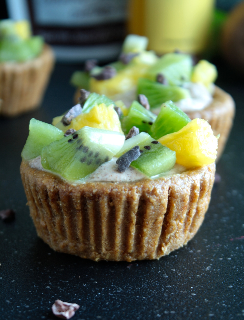 Fruit Cups with Cinnamon Creme