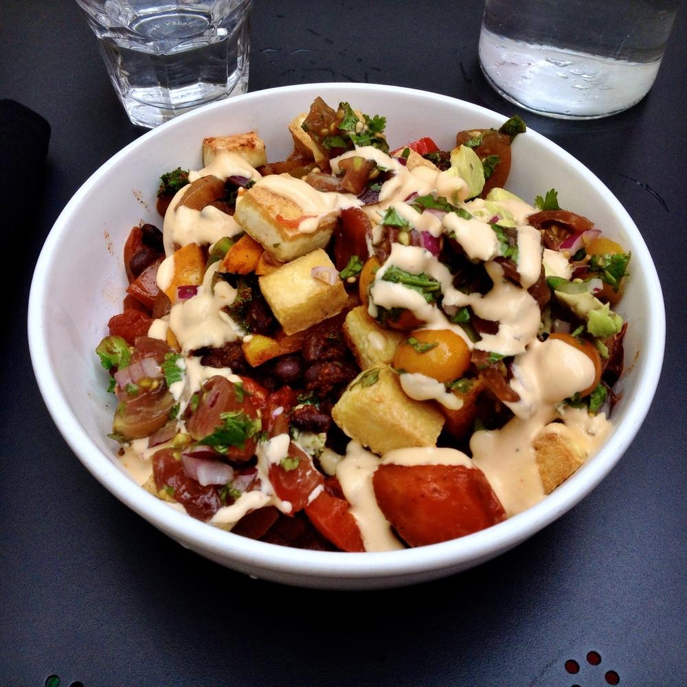 Tofu Burrito Bowl Vegan