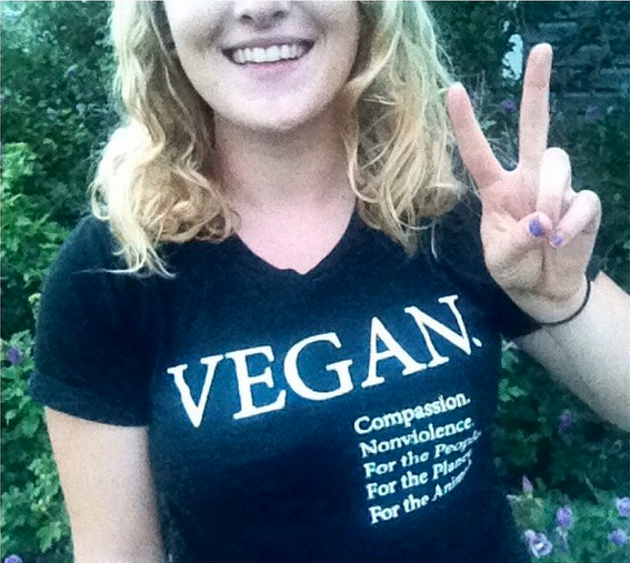 Spreading Vegan Message