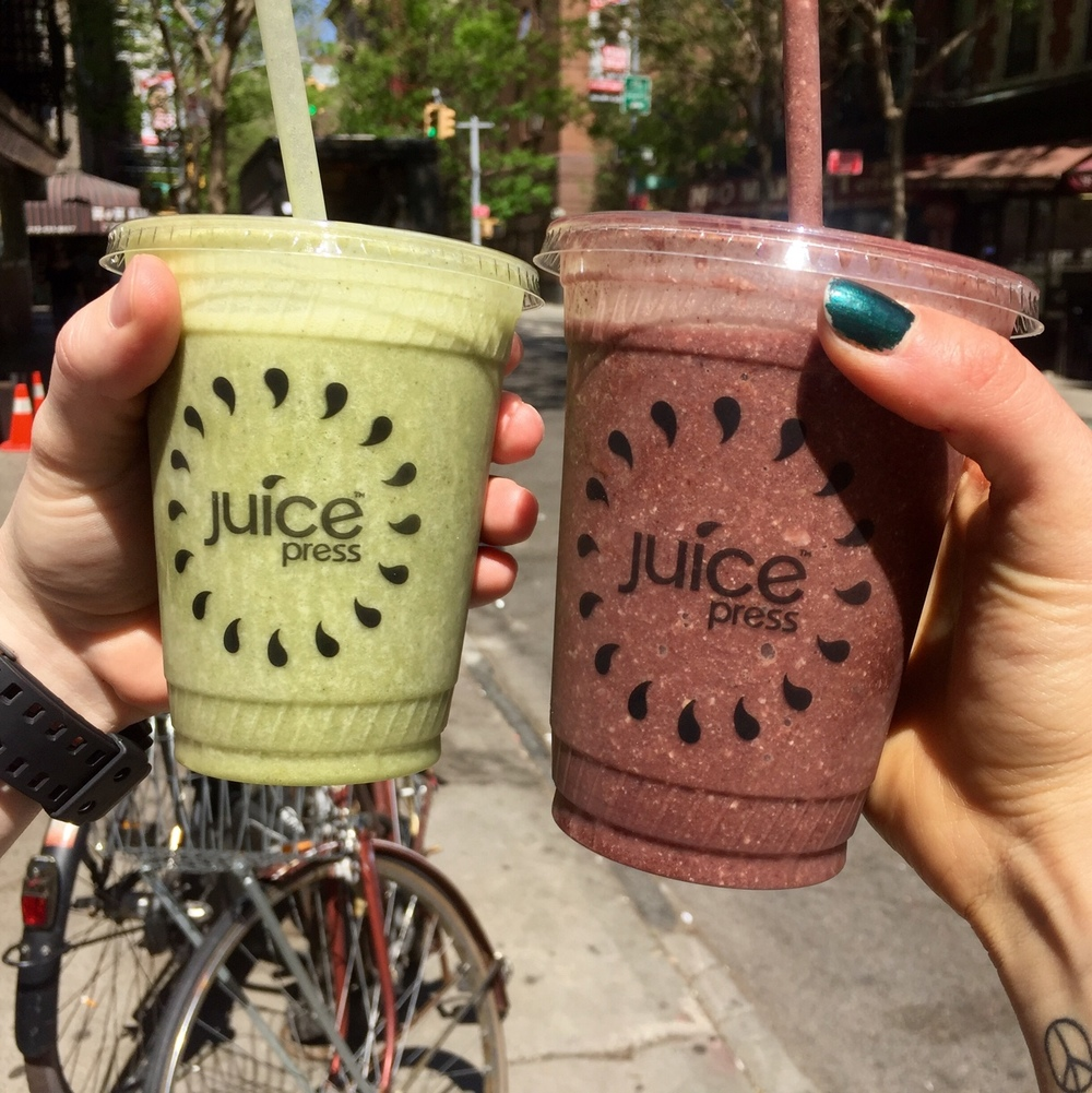 Juice Press NYC Smoothies