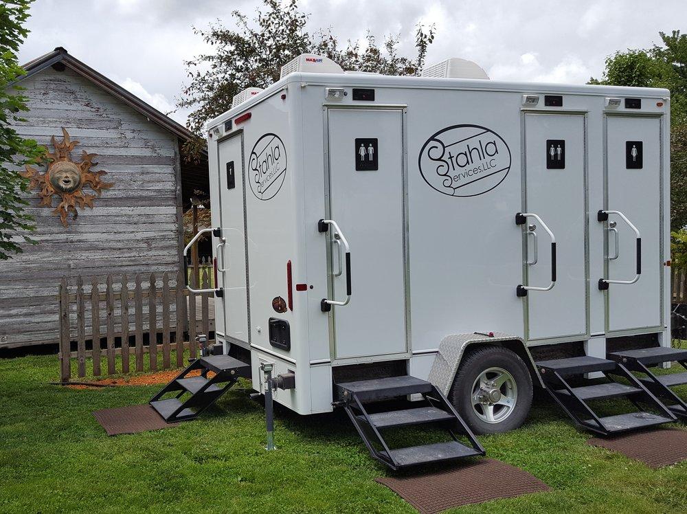 Restroom Trailer U0026 Portable Toilet Rentals