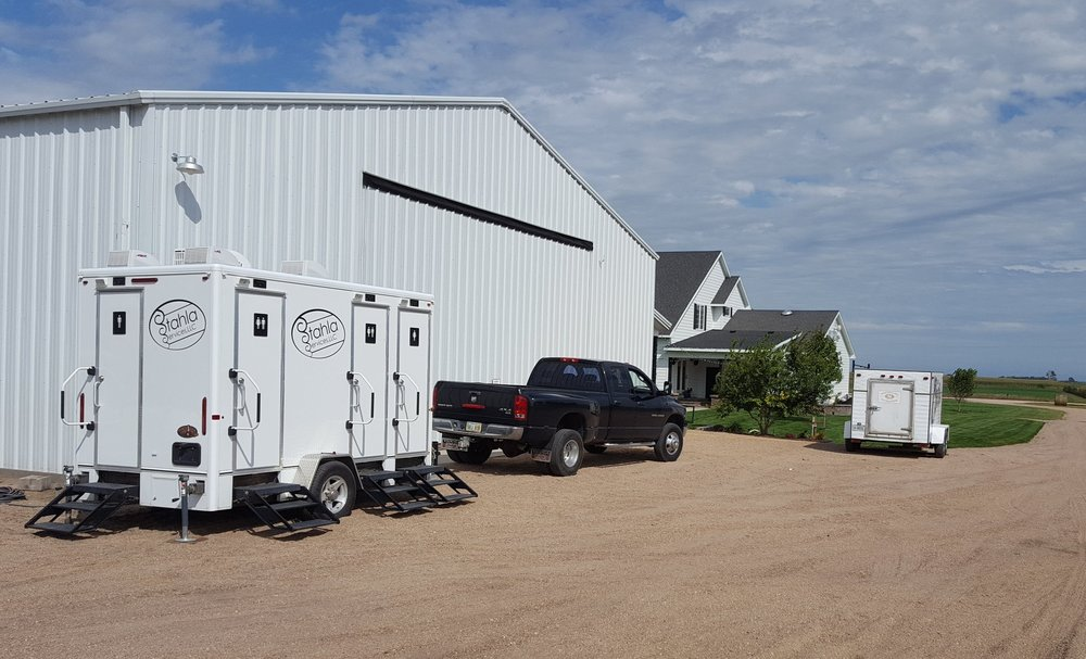 Restroom Trailer Rental Delivery