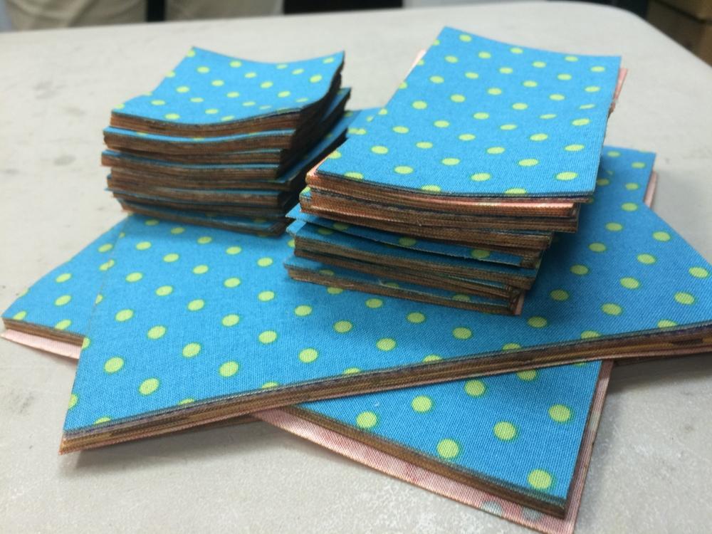 cotton fabric squares