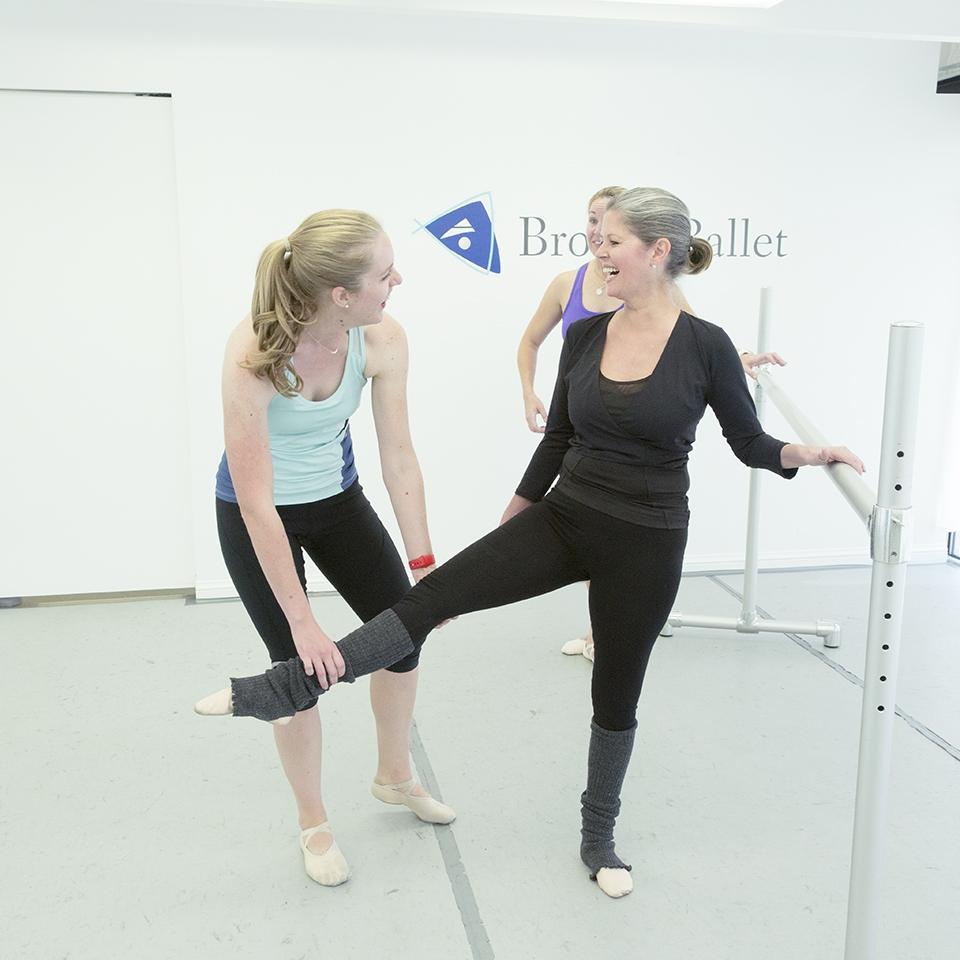 adult ballet after a break