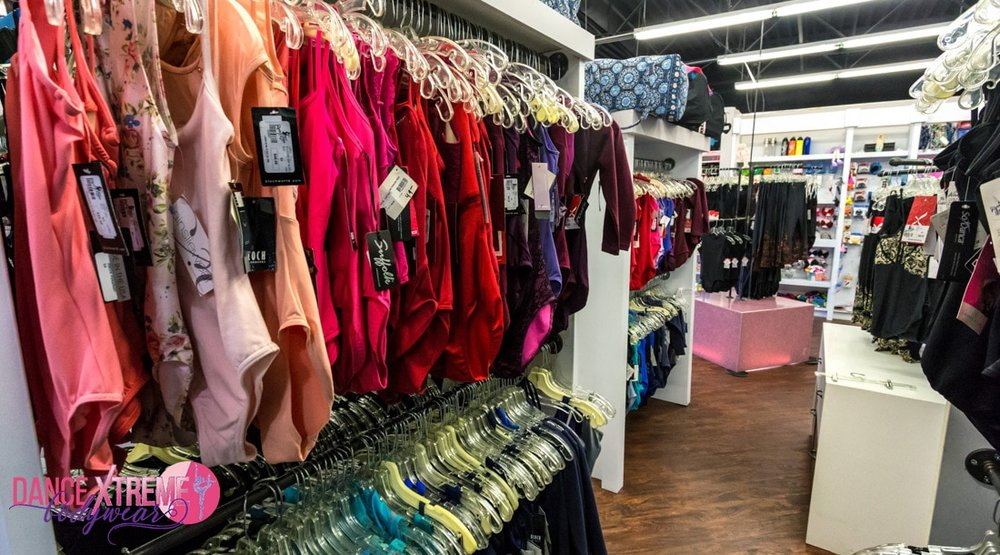 Local Dance store - If your dancer likes to shop for dance clothes, try a gift card to Dance Xtreme Bodywear in Centennial, CO.