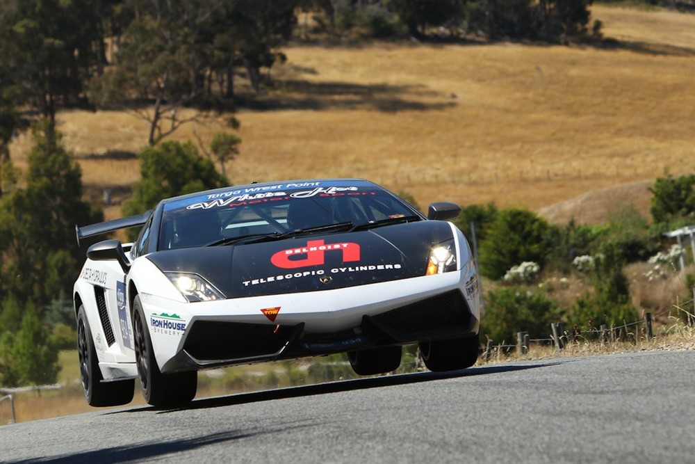 WhiteHot Lambo to retire as Targa Champion