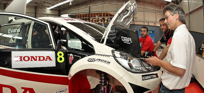 JAS Honda jazz with efi euro 4 ecu from efi technology