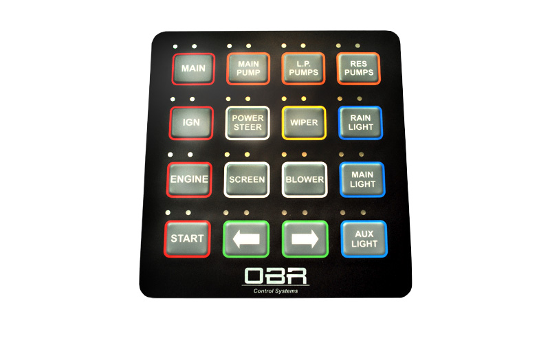 OBR MSP CAN Membrane switch panel