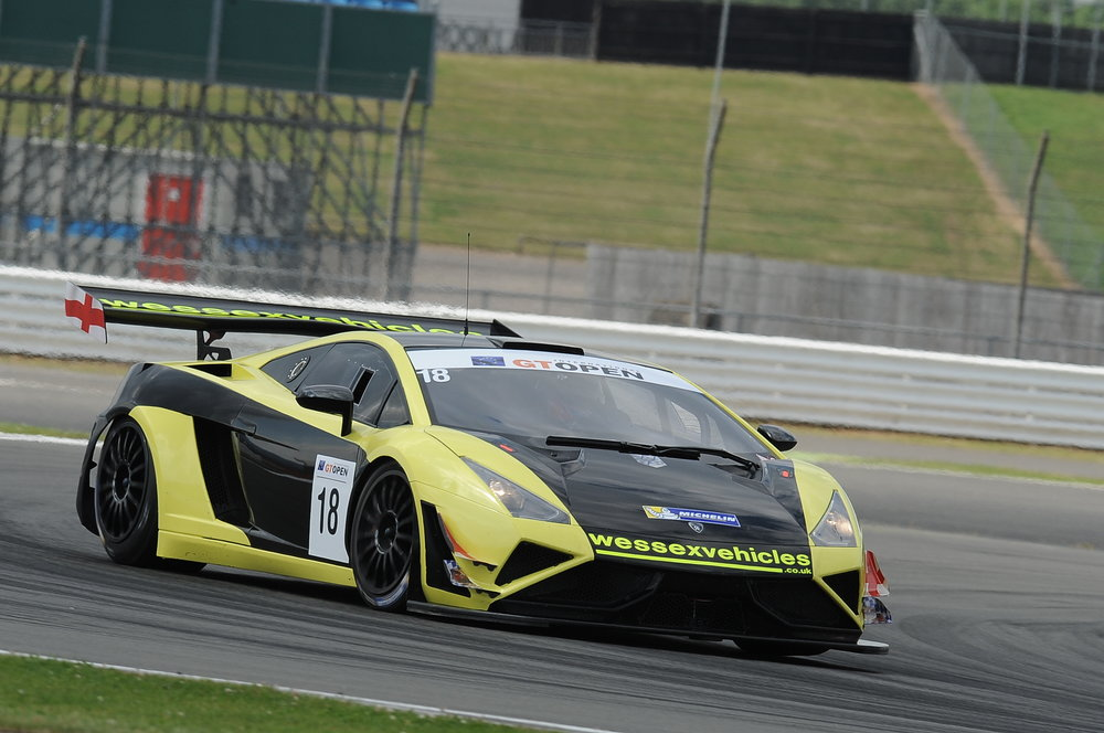 Wessex Vehicles win on GT Open debut!