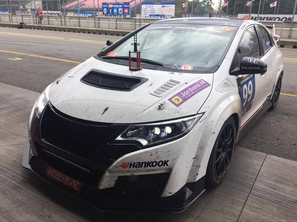 TGM/RKC Honda FK2 takes the A3 Class win in 24hr of Brno!