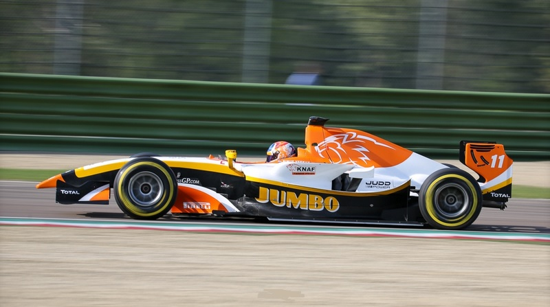 BOSS GP Victory for Dallara-Judd GP2 Evo