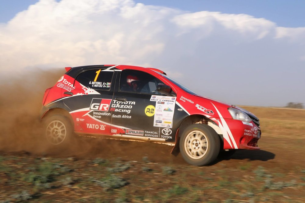 Guy & Simon clinch the SA National Rally title!