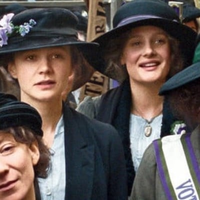 Glamour Carey Mulligan and Helena Bonham Carter on Suffragette