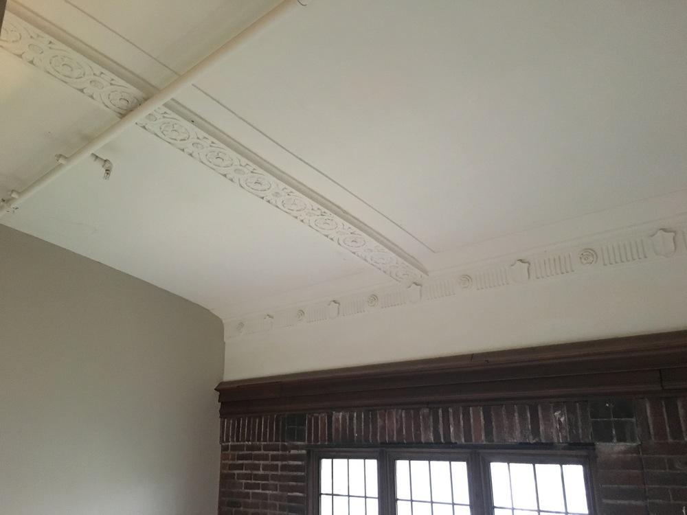 Original ceiling architecture.