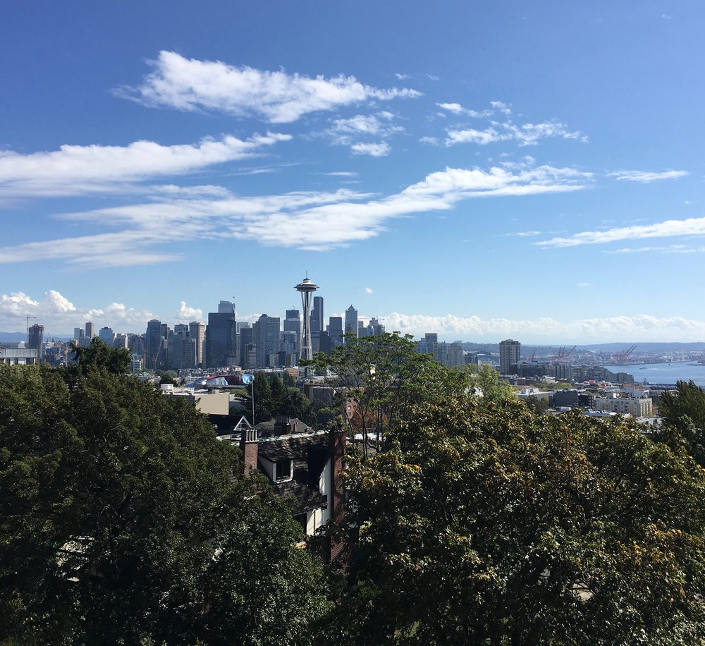 View of Seattle from Kerry Park.
