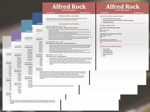 The Mid Level Career Resume Template Digital Template Creations - Mid level resume template