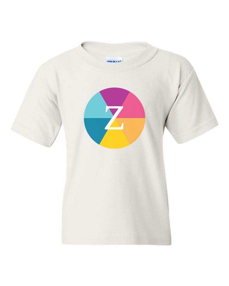 Zinzani Studios Color Wheel Logo Tee