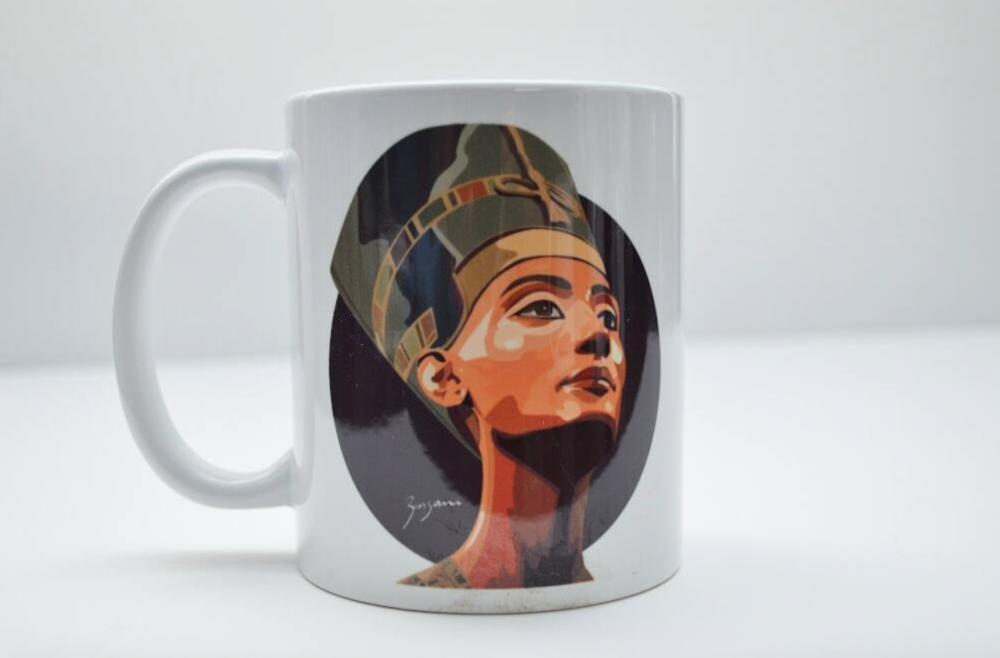 'black queen' mug