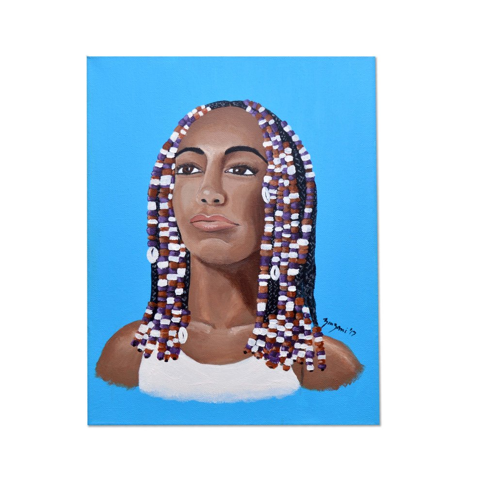 hair beads -