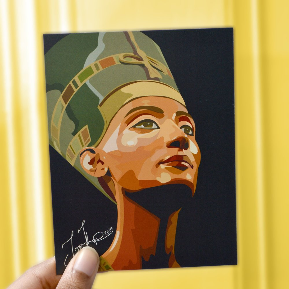 Black Queen Mini Print