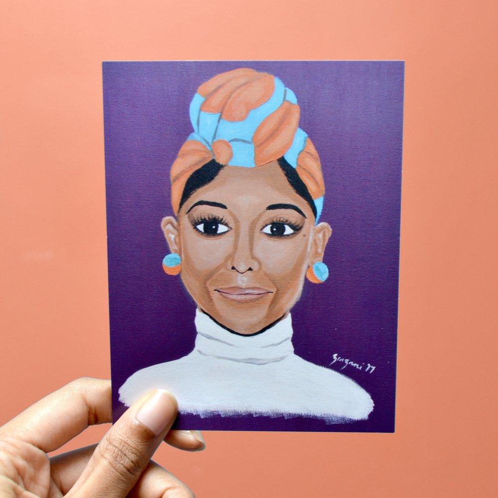 Head Wrap Mini Print