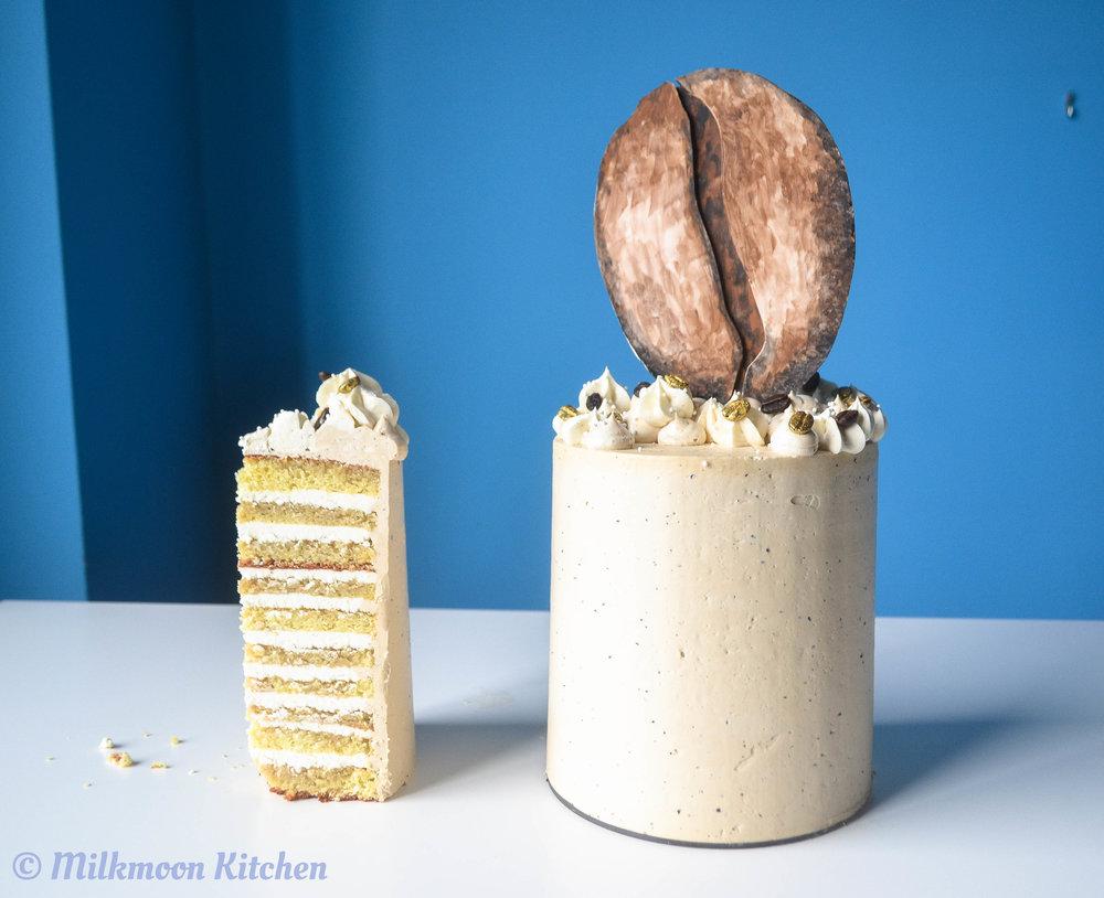Cold Brew Tiramisu Layer Cake by Milkmoon Kitchen