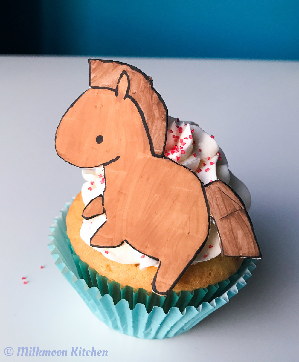 Chinese Zodiac Cupcakes by Milkmoon Kitchen