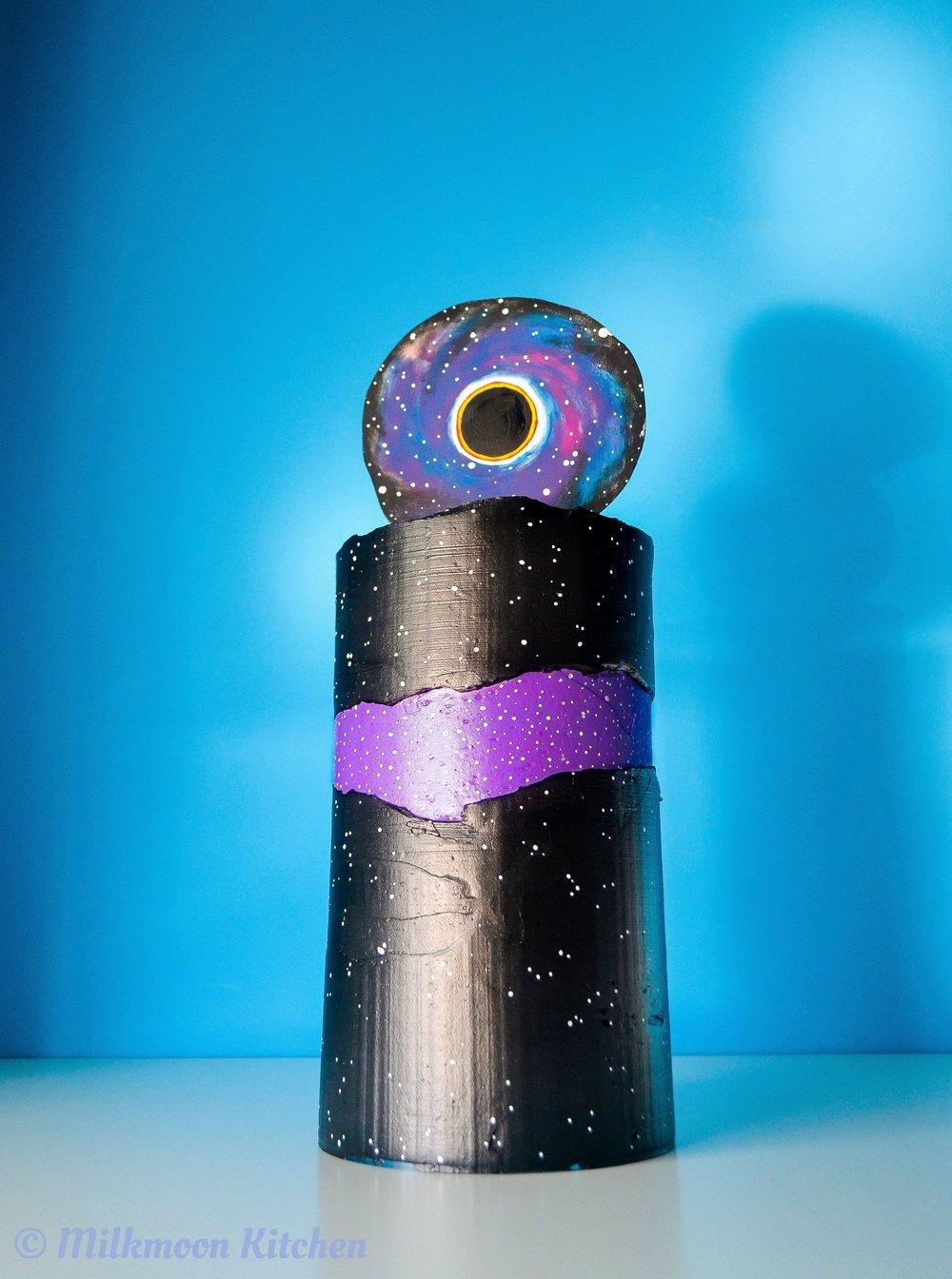 Black Hole Black Velvet Cake by Milkmoon Kitchen