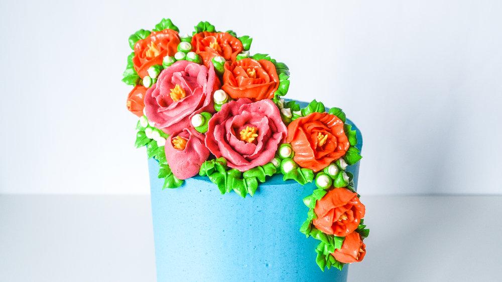 Frida Kahlo Cake by Milkmoon Kitchen