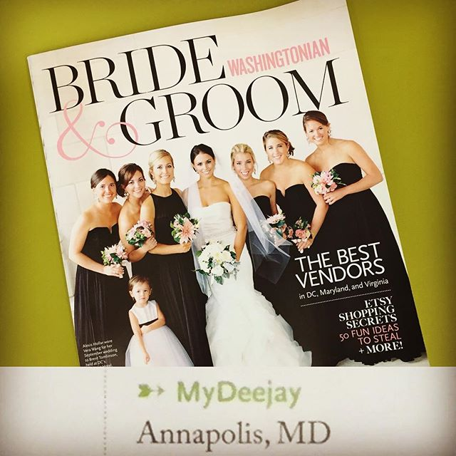 Humbled doesn't come close to describing how we feel about being named #topvotegetter in @washbridegroom's Winter/Spring 2016 edition! Thanks so very much to our amazing, supportive colleagues and to the hundreds of couples who include us in their most special days!