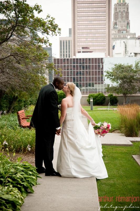 Center Club Baltimore Wedding by Arthur Remanjon