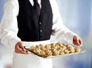 When to hire a wedding caterer