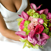 When to hire a wedding florist