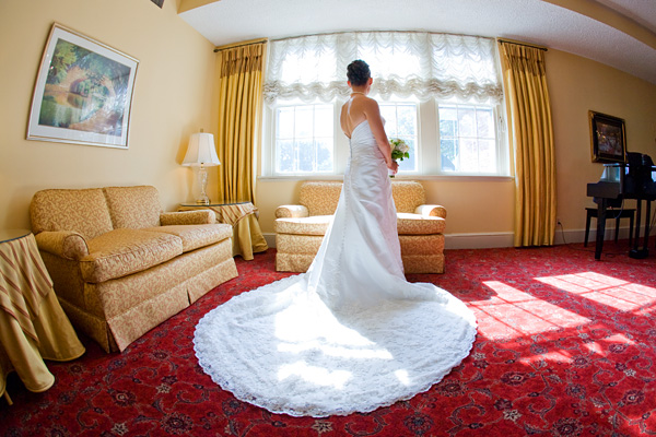Army Navy Country Club Wedding Bride by Jason Weil