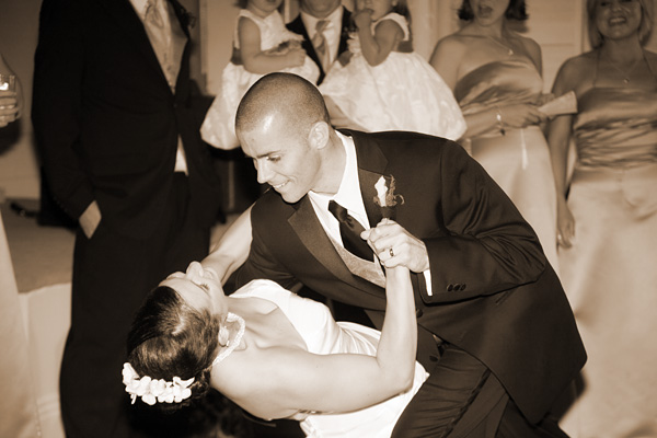 Army Navy Country Club Wedding Dance by Jason Weil