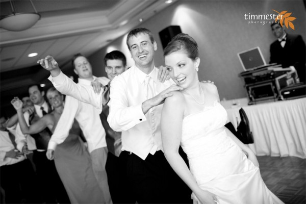 Fort Belvoir Officers Club Wedding Disc Jockey by Tracy Timmester Photography