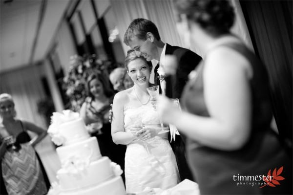 Fort Belvoir Officers Club Wedding DJ by Tracy Timmester Photography